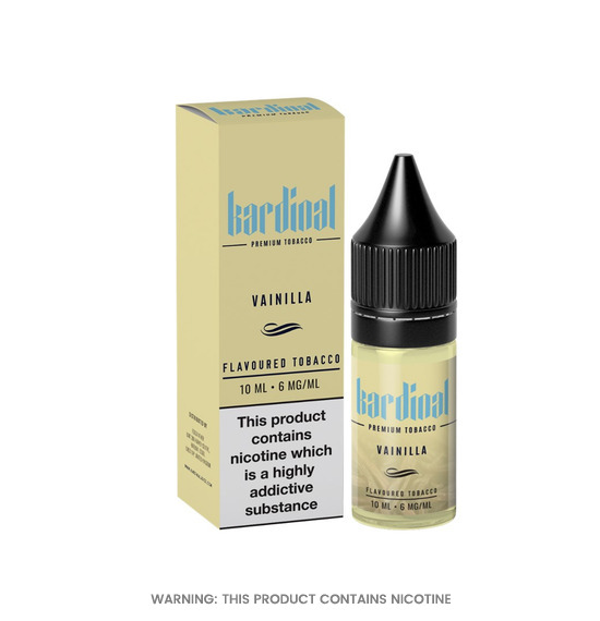 Kardinal Vainilla 50/50 E-Liquid 10ml