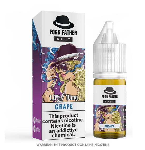 Fogg Father Grape Nic Salt E-Liquid 10ml