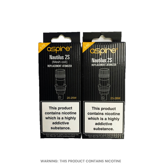 Nautilus 2S Coils by Aspire