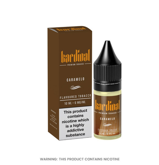 Kardinal Caramelo 50/50 E-Liquid 10ml