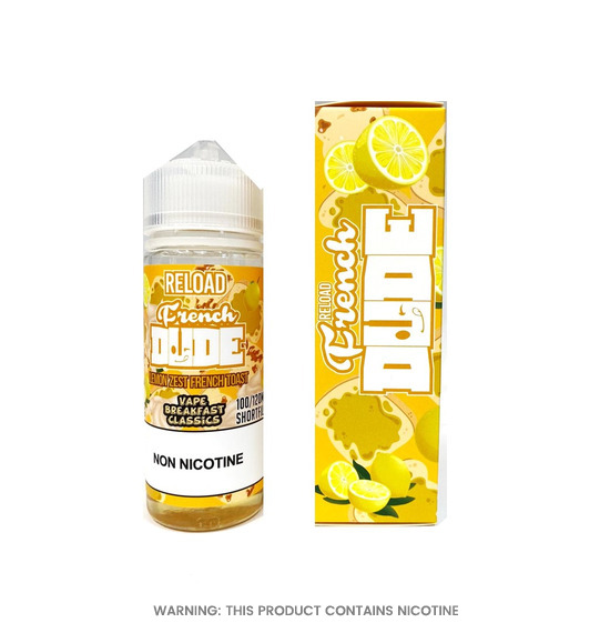 French Dude Reload 100ml E-Liquid by Vape Breakfast Classics