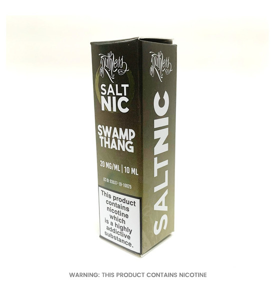Swamp Thang 10ml Nic Salt E-Liquid by Ruthless