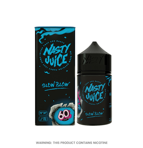 Slow Blow 50ml E-Liquid by Nasty Juice
