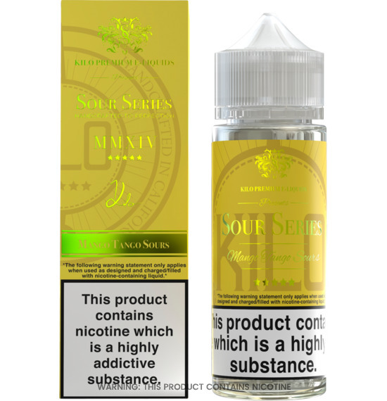 Sour Green Apple 100ml E-Liquid by Kilo