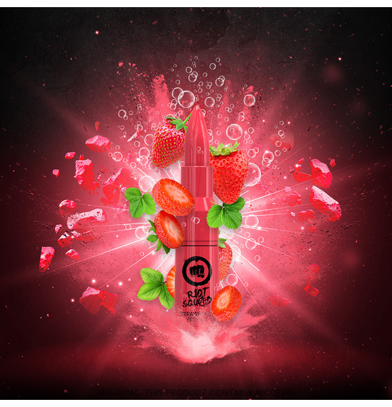 Strawberry Scream 50ml E-Liquid by Riot Squad