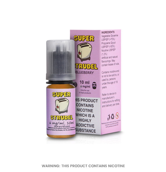 Super Strudel Blueberry E-Liquid