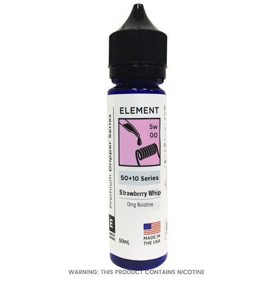 Strawberry Whip E-Liquid 50ml by Element