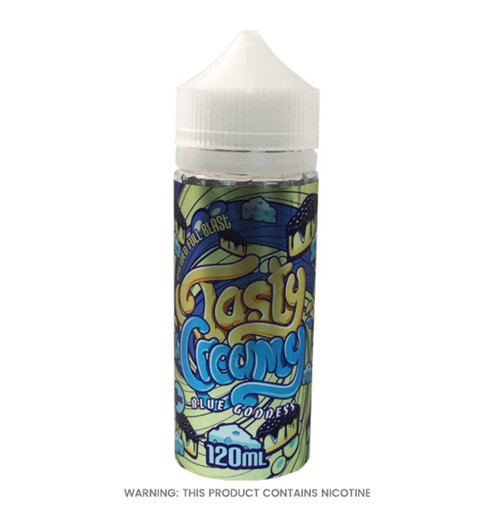 Blue Goddness 100ml E-Liquid by Tasty Creamy