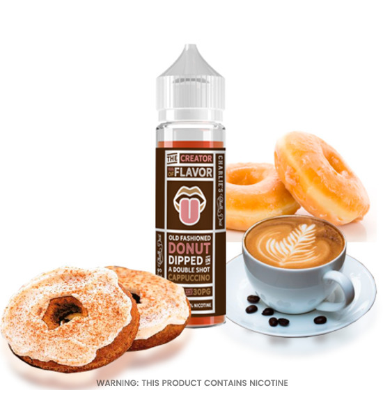 The Creator of Flavor Cappuccino Donut E-Liquid