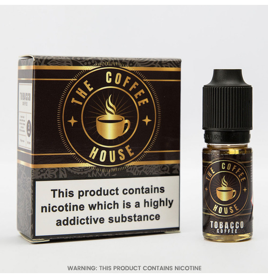 Tobacco Coffee E-Liquid by The Coffee House