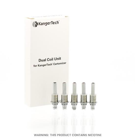 Kangertech Dual Coil Unit Coils