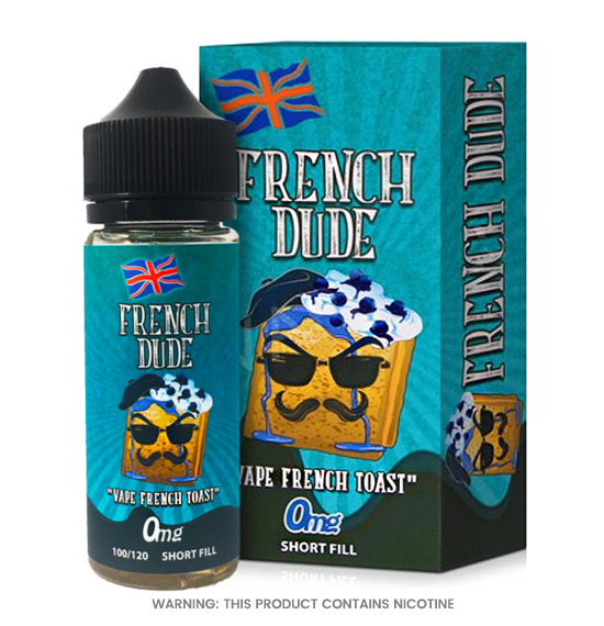 French Dude 100ml E-Liquid by Vape Breakfast Classics