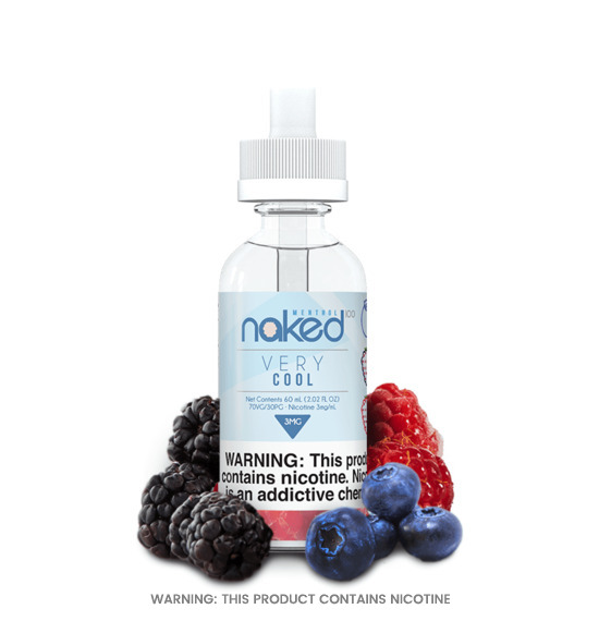 Naked Menthol Very Cool E-Liquid 50ml