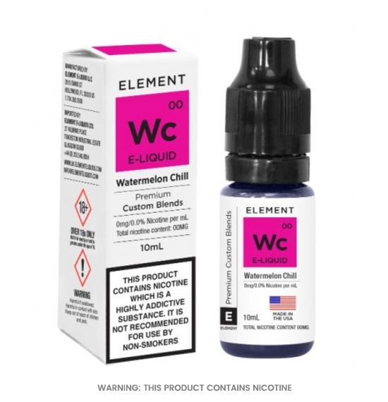 Element Watermelon Chill 50/50 E-Liquid 10ml