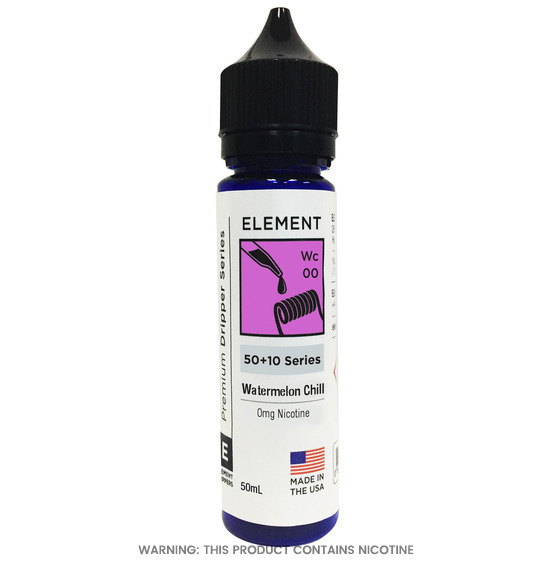 Element Watermelon Chill Dripper E-Liquid 50ml