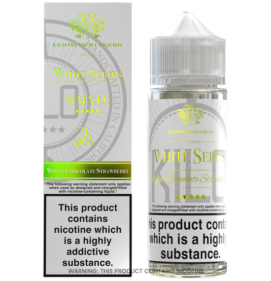 White Chocolate Strawberry 100ml E-Liquid by Kilo