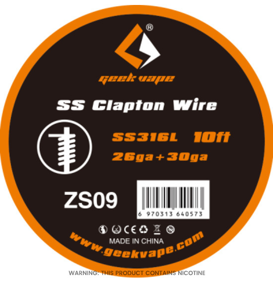 SS Clapton Wire by Geek Vape