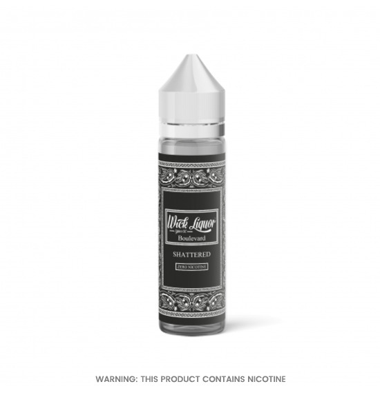 Boulevard Shattered E-Liquid by Wick Liquor 50ml