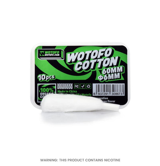 Wotofo Organic Cotton Profile Series