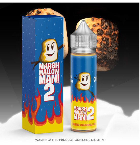 Marina Vape Marshmallow Man 2 E-Liquid 50ml
