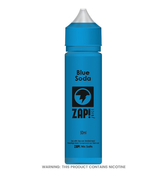 Zap! Blue Soda 50ml Short Fill E-Liquid