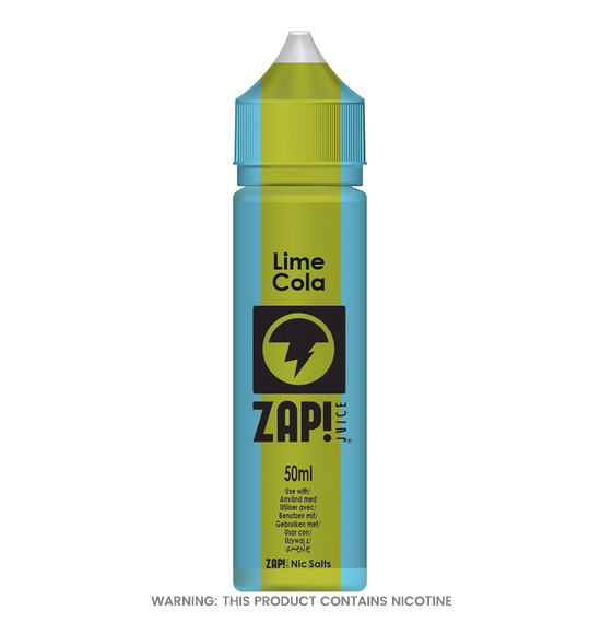 Lime Cola 50ml E-Liquid by Zap!