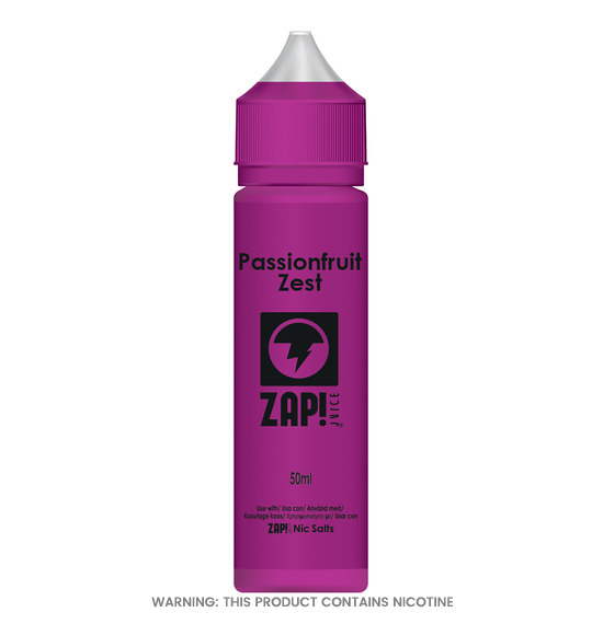Passionfruit Zest 50ml E-Liquid by Zap!