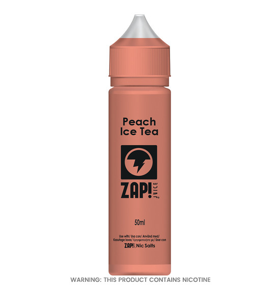 Zap! Peach Ice Tea Short Fill E-Liquid