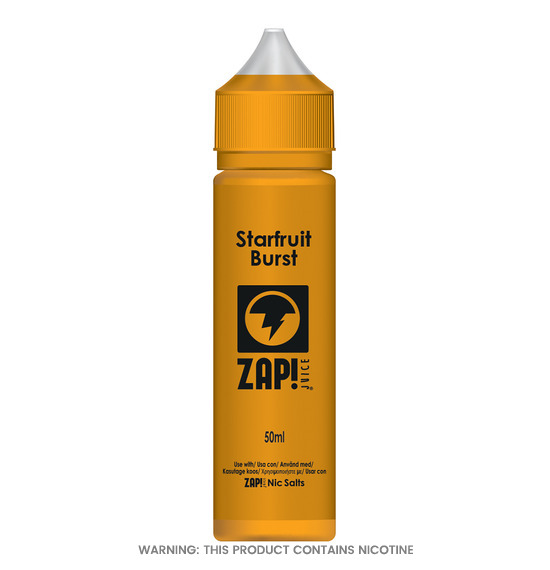 Starfruit Burst 50ml E-Liquid by Zap!
