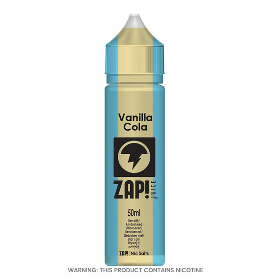 Vanilla Cola 50ml E-Liquid by Zap!