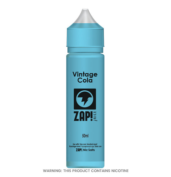 Vintage Cola 50ml E-Liquid by Zap!