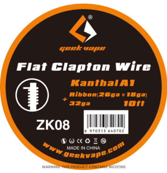 Flat Clapton Wire by Geek Vape